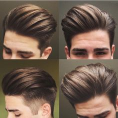 SinoArt Men's Hairpiece Human Hair Toupee Wig Super Thin Skin Hair Replacement ( Off Black) : Beauty Mens Hairstyles With Beard, Undercut Hairstyles, Hair And Beard Styles, Hairstyles Haircuts, Haircuts For Men, 2018 Haircuts, Pompadour Hairstyle, Latest Hairstyles, Short Hair Cuts