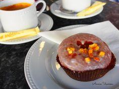 Paczek = Donut with sugar frosting and orange.
