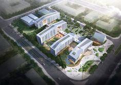 더 알아보려면 글을 방문하세요. Hospital Architecture, Healthcare Architecture, Office Building Architecture, University Architecture, Architecture Panel, Landscape Architecture, Architecture Design, New Classical Architecture, Contemporary Architecture