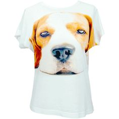 How Can Anyone Resist This Face! Full Front Beagle Tee Shirts.  Our soft shirt sublimation printing will not crack, peel or flake off. Sublimated shirts leave a permanent, vivid image with a soft-to-the-hand feel.  The dye is vaporized and absorbed by the garment, which differs from the screen printing, where the ink sits on top of the garment.