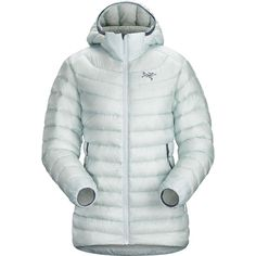 Arc'teryx - Cerium LT Hooded Down Jacket - Women's - Dew Drop