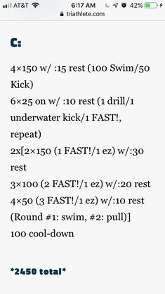 2450 Masters Swim Workouts, Swim Lessons, Underwater, Drill, Swimming, Swim, Hole Punch, Under The Water, Drills