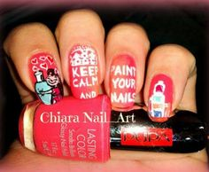 Keep calm color your nails ♥