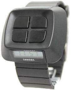 DW387A Noir watchcase Chronographe BackLight Noir Bezel Hommes Femmes Montre numérique