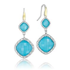2014 Jewelry Trends: Blues are in this year. These Tacori earrings would be a great addition to your jewelry collection