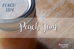 Learn How to Make Peach Jam! http://homesteadoriginals.com/scrappy-peach-jam/