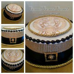 Versace buttercream cake!