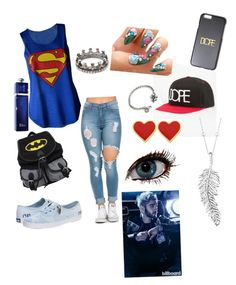 """""""Going to see your boyfriend Zayn"""" by anniehoran143 ❤ liked on Polyvore featuring Dope, Keds, Loree Rodkin, Penny Preville, Sweet Romance and Christian Dior"""