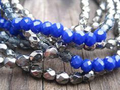 Czech glass bracelets www.la-c.nl