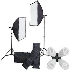Studio Lighting Continuous 8 Lights Kit Large Soft Box #ElementsWishList