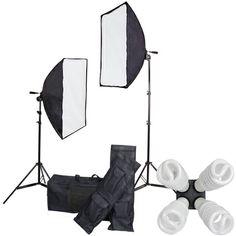 Studio Lighting Continuous 8 Lights Kit Large Soft Box #ElementsWishList