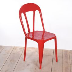 Kullu Metal Chair Red, now featured on Fab.