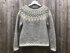 Ravelry: Project Gallery for Telja pattern by Jennifer Steingass Fair Isle Knitting Patterns, Sweater Knitting Patterns, Knit Patterns, Punto Fair Isle, Icelandic Sweaters, Nordic Sweater, I Cord, Knit In The Round, Knit Crochet