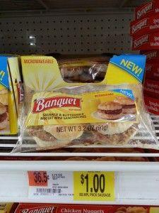 Banquet Breakfast Sandwiches $0.50 ~ Walmart