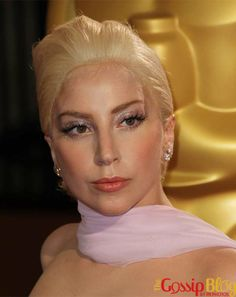 Lady Gaga was at the 2014 Academy Awards held in L. Gaga is the face of Versace so for the occasion. Academy Award Winners, Academy Awards, Oscars 2014, Lady Gaga, Wigs, Lady Gaga Fashion, Lace Front Wigs