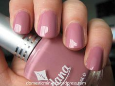 Rose Color Nail Polish - Nails which are well taken care of make a favorable perception on your individuality. Nail Polish Bottles, Pink Nail Polish, Jordana Lipstick, Blush Pink Nails, Tonne, Cute Nail Designs, Nail Tips, Manicure Ideas, Cute Nails