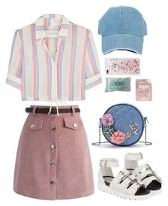 Designer Clothes, Shoes & Bags for Women Kpop Fashion Outfits, Korean Outfits, Retro Outfits, Girly Outfits, Cute Casual Outfits, Outfits For Teens, Stylish Outfits, Vintage Outfits, Polyvore Outfits Casual