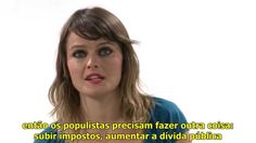 """""""Populismo vs República"""", com Gloria Álvarez."""