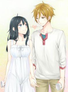 Tamako Market / Tamako Love Story   Kyoto Animation / Kitashirakawa Tamako and Ooji Mochizou / 「もちたまちゃん末永くお幸せに!!!!」/「猿川円」のイラスト [pixiv]