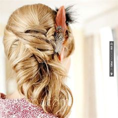 Brilliant! - wedding hair | CHECK OUT MORE IDEAS AT WEDDINGPINS.NET | #weddings #hair #weddinghair #weddinghairstyles #hairstyles #events #forweddings #iloveweddings #romance #beauty #planners #fashion #weddingphotos #weddingpictures