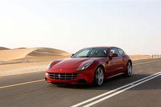 Ferrari-FF  A Ferrari for families?  via Wired.com