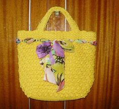 Crafts bags: crochet tutorial