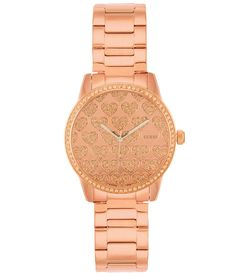 Guess Glitz Watch - Women's Watches | The Buckle -Rose Gold + Hearts!