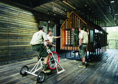 2014 Core77 Design Awards Winner Spotlight: 'Sustainability Treehouse,' a Lesson in Energy Creation from the Boy Scouts - Core77