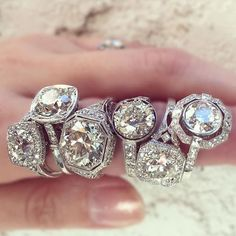 Stack em up by @singlestonela . . . #beaumade #engaged #engagementring #justsaidyes #shesaidyes #bridetobe #futuremrs #ringselfie #ringfie #ringsofinstagram #ringblings #ringbling #bling #blingbling #putaringonit #feyonce #proposal #wedding #abouttosayyes #diamonds #rings #ringstack #stacksarethenewblack