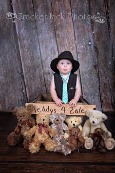 Vintage Jointed Teddy Bear Photo Prop. $20.00, via Etsy.
