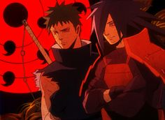 Madara And Obito Uchiha...TUT