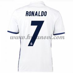 Real Madrid Nogometni Dresovi 2016-17 Ronaldo 7 Domaći Dres Komplet