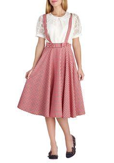 Life's Spin Good Skirt | Mod Retro Vintage Skirts | ModCloth.com