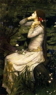 Ophelia 1894 John William Waterhouse
