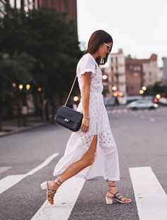 This Blogger Found The Perfect White Dress