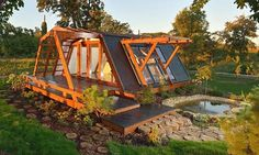 Eco houses around the world - From Bucharest to Buenos Aires, architects are creating affordable (and not so affordable) eco-friendly homes - Nice collection of homes, some prefab or kit.  The house pictured in Romania is made from recyclable materials.
