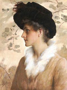 GEORGE HENRY BOUGHTON (1833-1905) Англия-США)