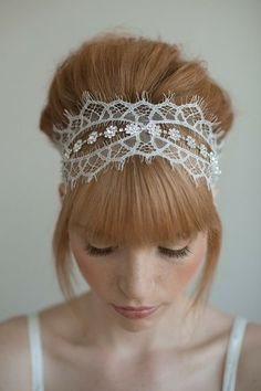 elegant, headbands, lace, rhinestone, sparkly, hairstyles, modern , up-do, victorian, romantic , accessories, hair, wedding
