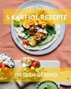 Karfiol Rezepte für ein gesundes Immunsystem Marley Spoon, Vegetable Recipes, Cobb Salad, Yummy Food, Vegetables, Ethnic Recipes, Immune System, Healthy Food, Fresh