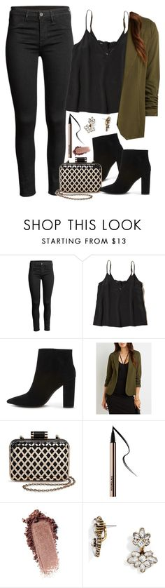 """Spencer Hastings inspired house party outfit"" by liarsstyle ❤ liked on Polyvore featuring Hollister Co., Forever 21, Charlotte Russe, Tevolio, BaubleBar, NightOut, party, date and mid"