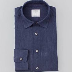 indigo linen shirt - Google Search