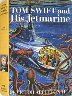 Tom Swift and His Jetmarine #2 The New Tom Swift In Adventures 9102