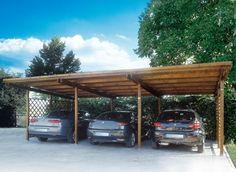 Compte triple pour cet abri en bois qui dispose de trois espaces de rangement. Un montage simple, et un charme indéniable!