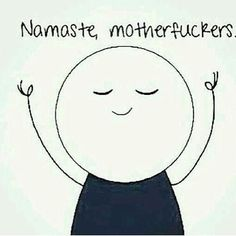 Un poco de humor para este viernes #namaste