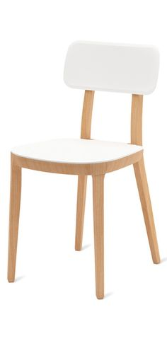 Beech structure, polypropylene seat and backrest.