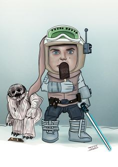 Some like it Hoth (Chibi Skywalker) by logan7ms on DeviantArt