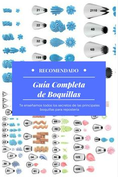 Guia completa: uso de las principales boquillas para pastelería Piping Frosting, Cake Business, Cake Tutorial, Royal Icing, Coffee Time, Cake Decorating, Baby Shower, Snacks, Chocolate