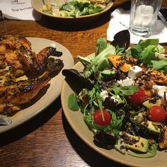 Lovely #lunch with work friends at #Nandos #quinoa #salad and extra hot #grilled #chicken!!! #healthyeating #healthyliving #foodie