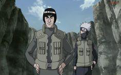 Guy and Kakashi