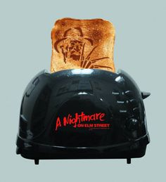 This Nightmare on Elm Street toaster. | Community Post: 31 Creepy Items Every Horror Fan Should Own